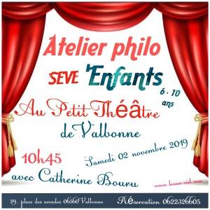 Ateliers philo Valbonne